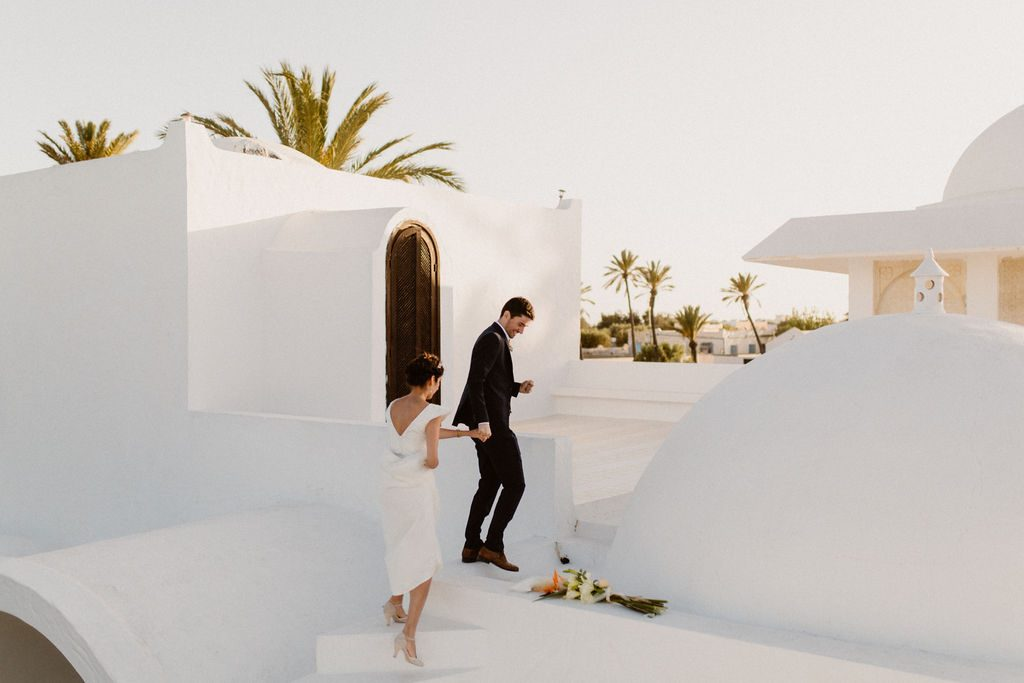 Mariage boho-oriental sur l'île de Djerba en Tunisie
