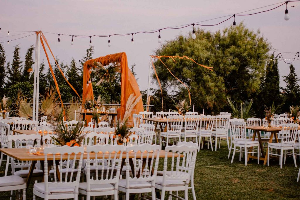 mariage bohème chic à Tunis by Make My Wed