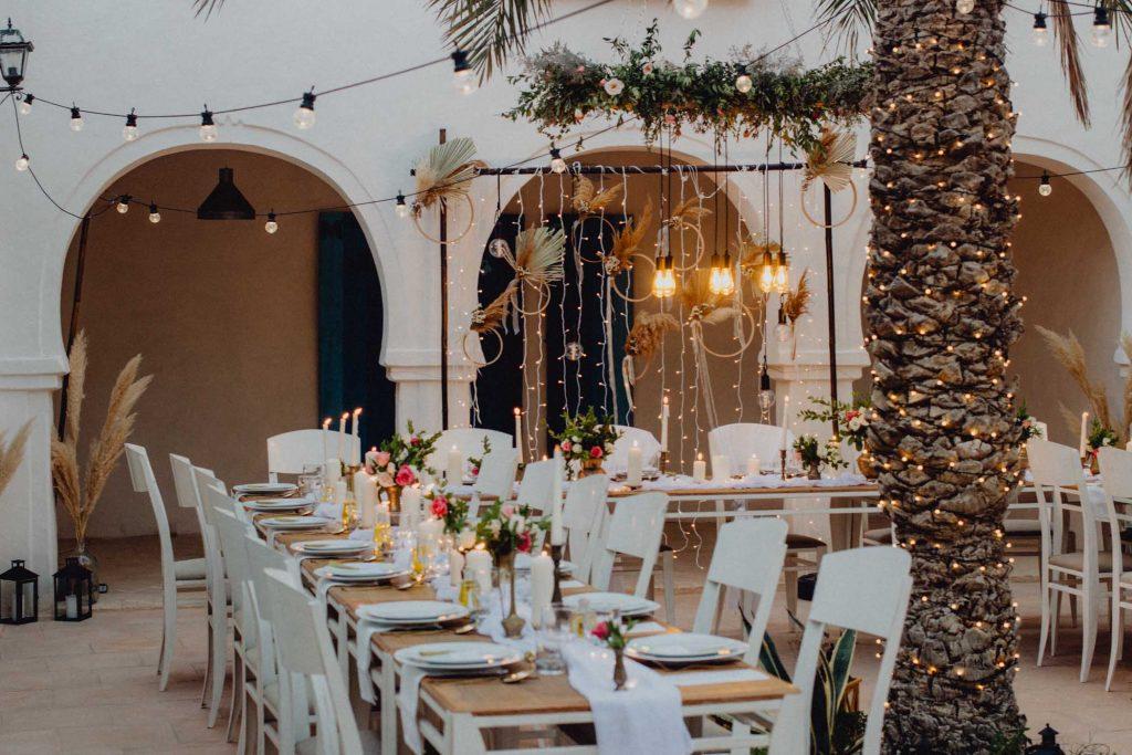 Mariage élégant et authentique à Djerba, Tunisie | Wedding Planner et Designer - Make My Wed